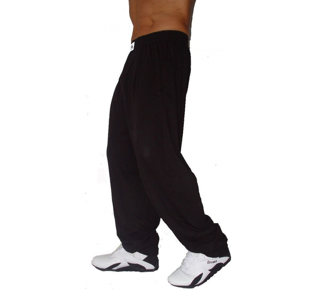 C500 Workout Pants von Crazy Wear - Solid Black