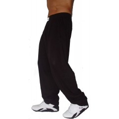 C500 entraînement Pantalons de Crazy Wear - Solid Black