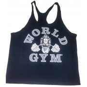 CLOSEOUT- W-031 World Gym Stringer Tank Top