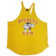 CLOSEOUT- P-05 Pitbull Gym String Tank Top B2B icon-NO REFUNDS