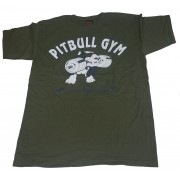 Pitbull Logo Army Shirt