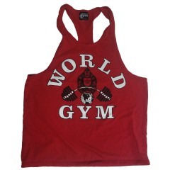 BLOWOUT - W-037 World Gym Workout Tank Top Racerback