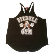 CLOSEOUT- P-07 Pitbull Gym String Tank Top B2B icon-NO REFUNDS