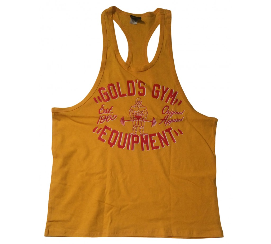 CLOSEOUT G-015 Golds Gym Workout Tank Top To Logo- DISCONTINUED STYLE, COLLECTORS ITEM