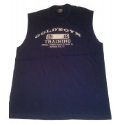 CLOSEOUT G-017 Golds Gym Sleeveless Shirt Training Logo