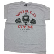 W-017 World Gym T-shirt- California - Vintage collectors