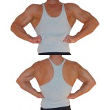 F300 Üres Tank Top Mens Y-back