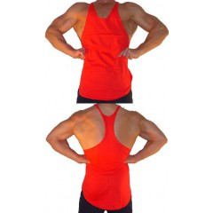 F350 Herre Y-Back Blank Tank Top