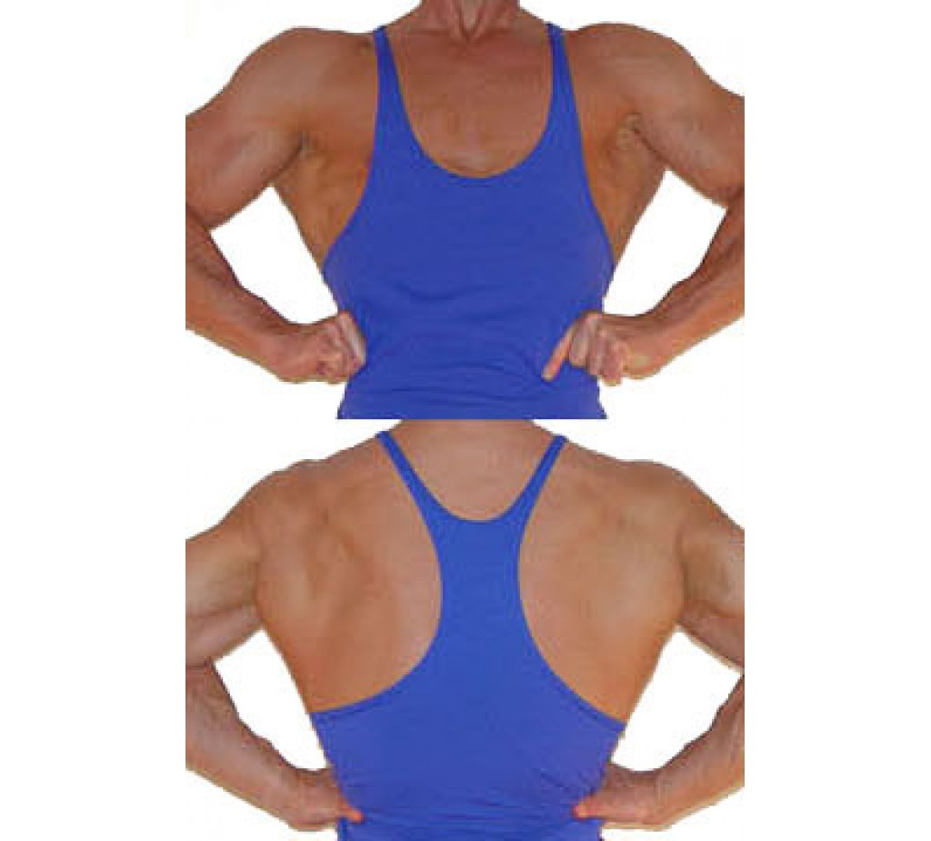 F399 Stretch Muscle Tank Top - Blowout