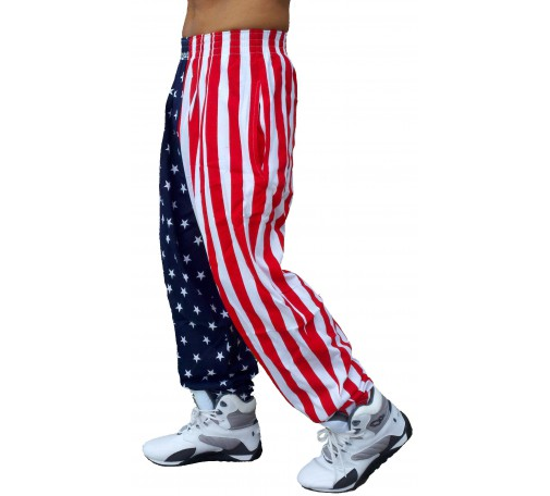 American Flag Pants Men's Famous F500 by Best Form