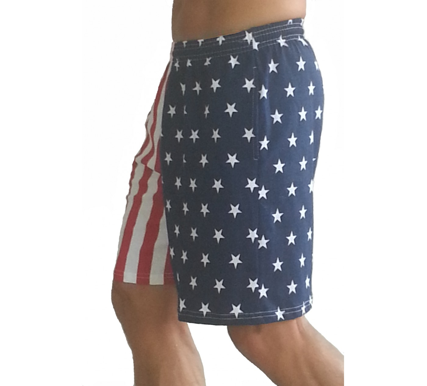 American Flag Shorts Men's F600