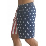 CLOSEOUTS, FACTORY 2NDS- F600 Flag Shorts in American Flag Short Pattern