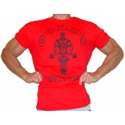 G101 Golds Gym Bodybuilding-T-Shirt auf das Icon