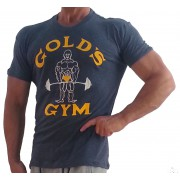 G110 Golds Gym muscle shirt Burnout Tee Joe logo