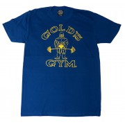 Logotipo Burnout Tee joe G110 Golds Gym Muscle Shirt
