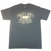 G143 Golds Gym T-Shirt Trainings Logo