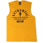 G188 Golds Gym Sleeveless Shirt Training Logo