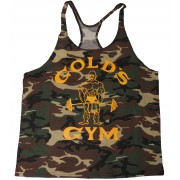 G300 Golds Gym Stringer Tanktop Heren Y-Back Joe Logo