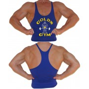 G300 Golds Gym Regata Longarina Do Logotipo Dos Homens Joe Y-Back