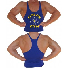 G300 Golds Gym Stringer Tank Top Mens Y-Back Joe Logo