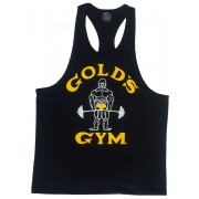 G310 Golds Gym Racerback Tank-Top Joe-Logo