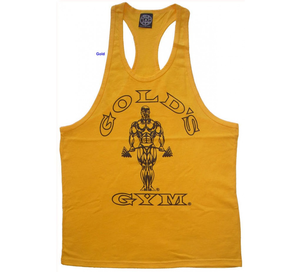 G311 Golds Gym Workout Tank Top Til Logo