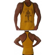 G316 Golds Gym Workout Tank Top estilo de timbre con oscar icono