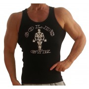 G391 Golds gym muscle tank top to icon Gym vest