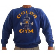 G800 Golds Gym Sweatshirt Joe logo