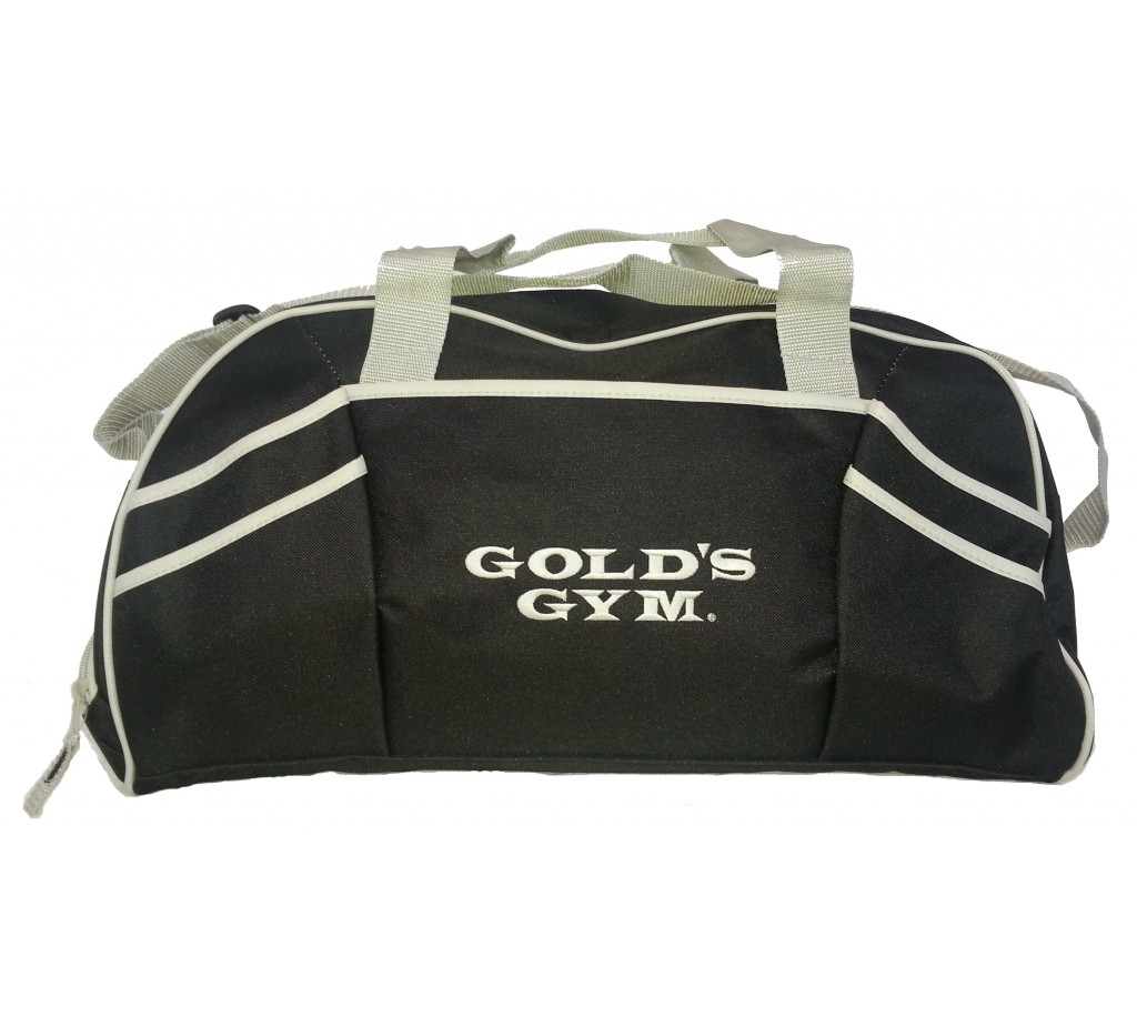 bed47ed74934 Grande Gym Bag para roupa do exercício  G962 Golds gym bag for ...