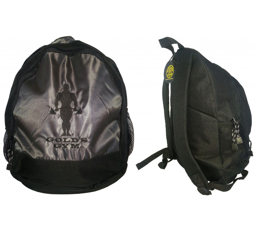 G966 backpack gym bag golds bodybuilder icon