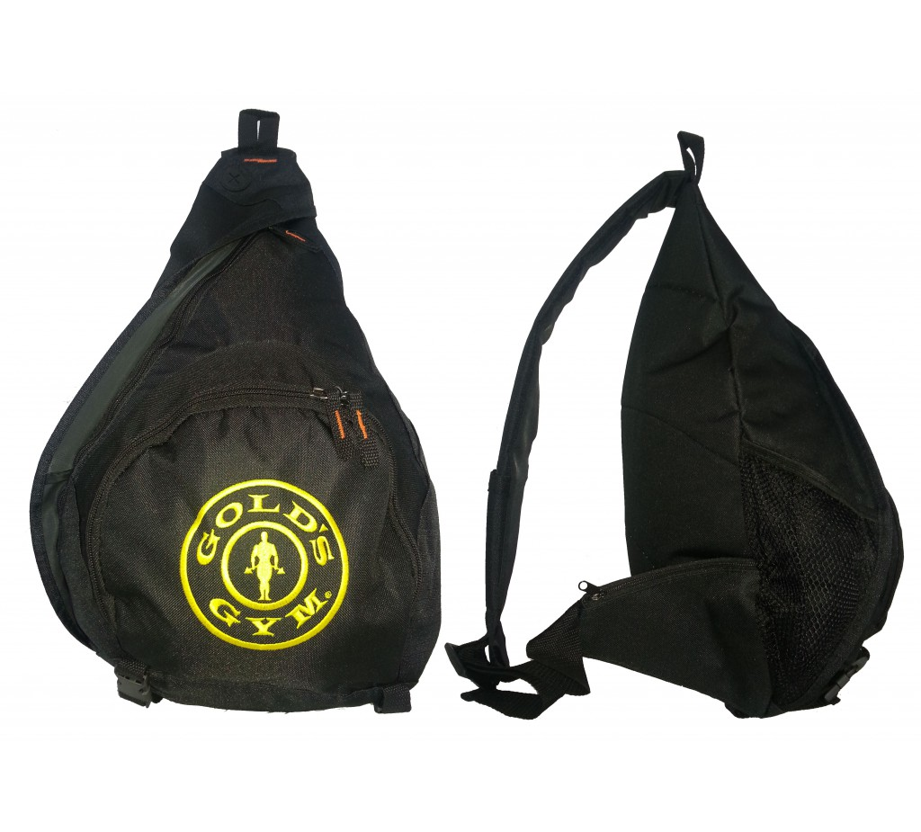G967 Golds Gym sling backpack gym bag