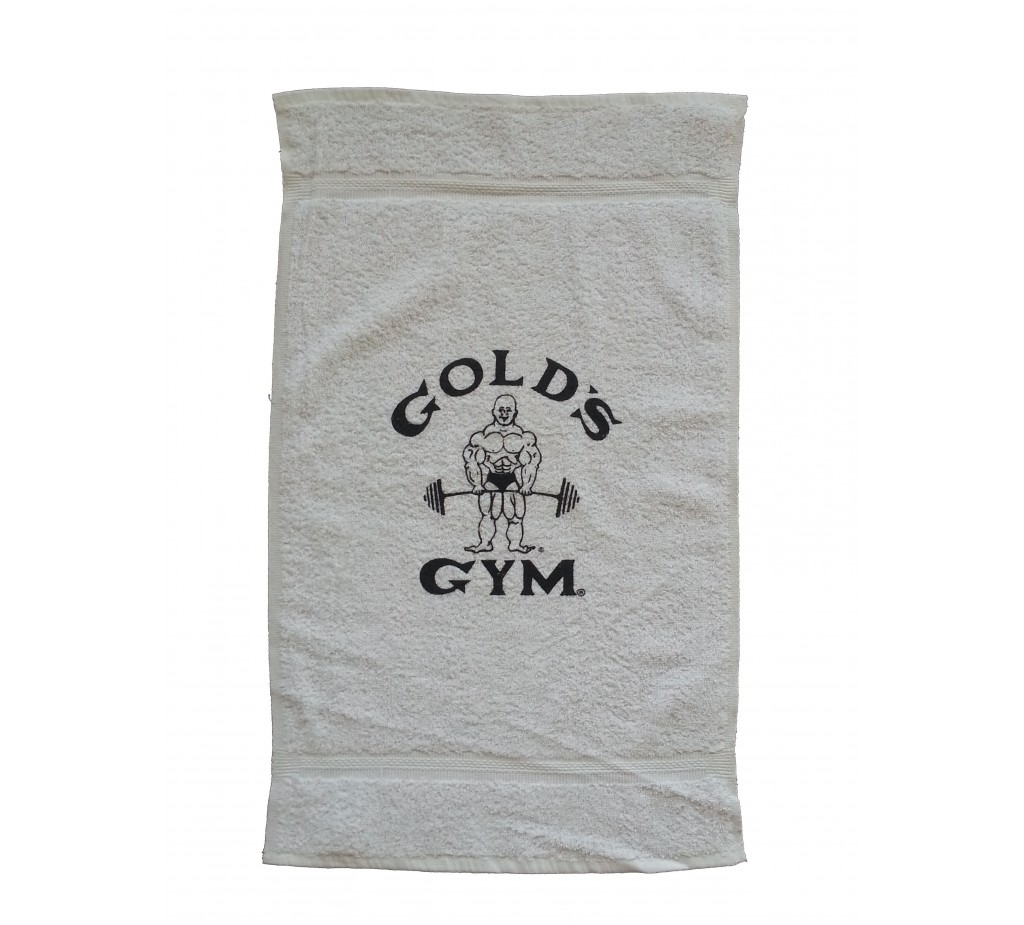 Towel In Gym: New Fitness Wear :G980 Golds Gym Towels Old Joe Logo