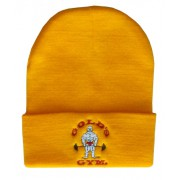 Cap gorro G9351 Golds Gym logotipo bordado joe velho