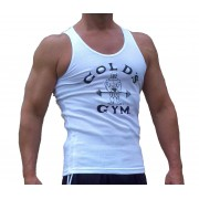 G390 Golds gym tank top a costine vecchio joe logo