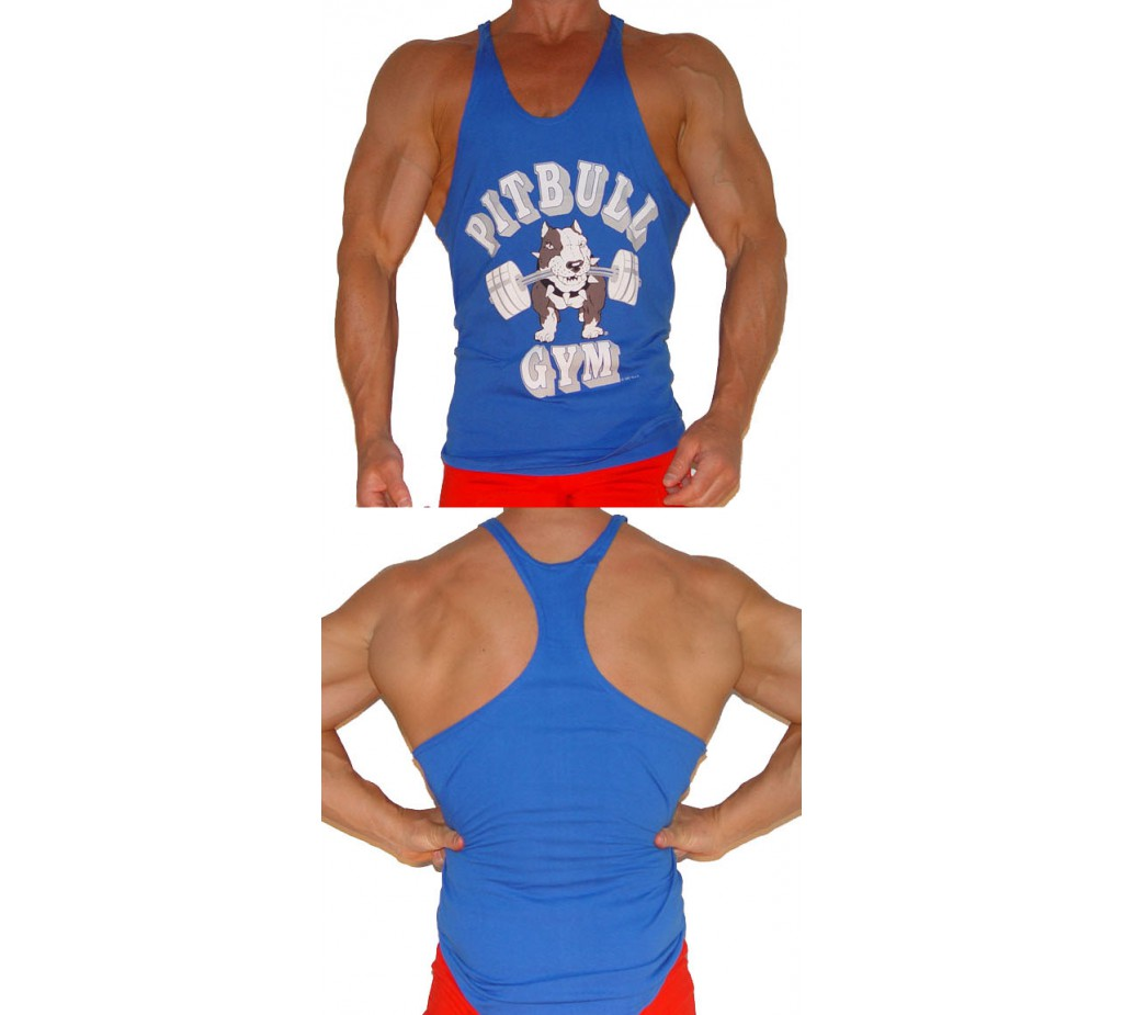 P301 Pitbull Spor barbells Dize Tank Top