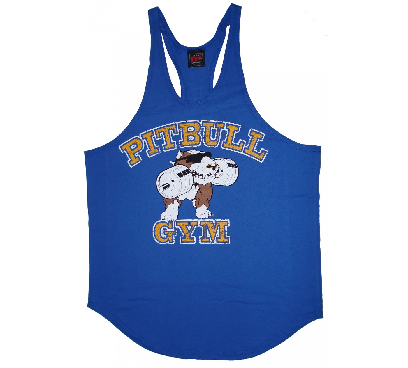 P312 Pitbull Gym String Tank Top Stein-Logo