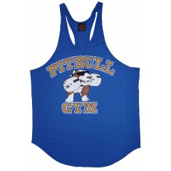 P312 Pitbull Gym string tank top stone logo