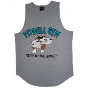 P323 Man Tank Top with Pitbull Clothing B2B logo