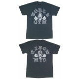 W100 World Gym Shirt Retro Gorilla logo