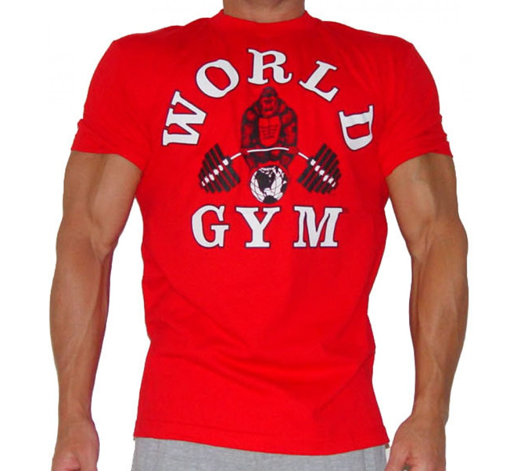 Bodybuilding shirts world gym bodybuilding t shirts for Best fitness t shirts