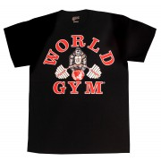 W101J World Gym camicia bodybuilding jumbo