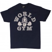 W101 World Gym Bodybuilding T Shirt
