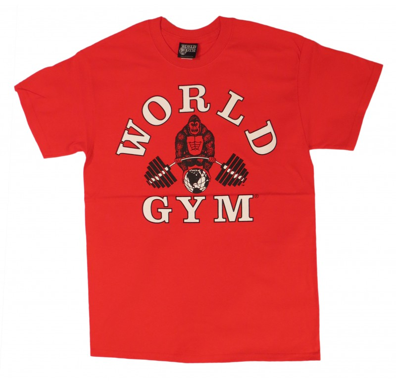 World Gym bodybuilding shirt jumbo