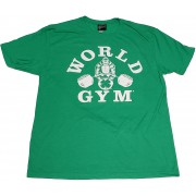 World Gym Special Edition Gorilla Pot of Gold Shirt Irish Green