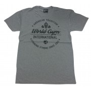 World Gym Shirt  American Tradition- World Gym International