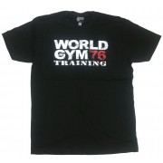 World Gym workout shirt World Gym 76 Training