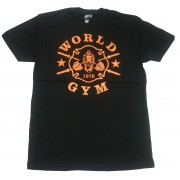Shirt Muscle W110 World Gym Burnout Tee