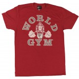 W110 világ Gym Muscle Shirt Burnout Tee