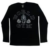 W171 World Gym Muskelshirt Langarm Thermo